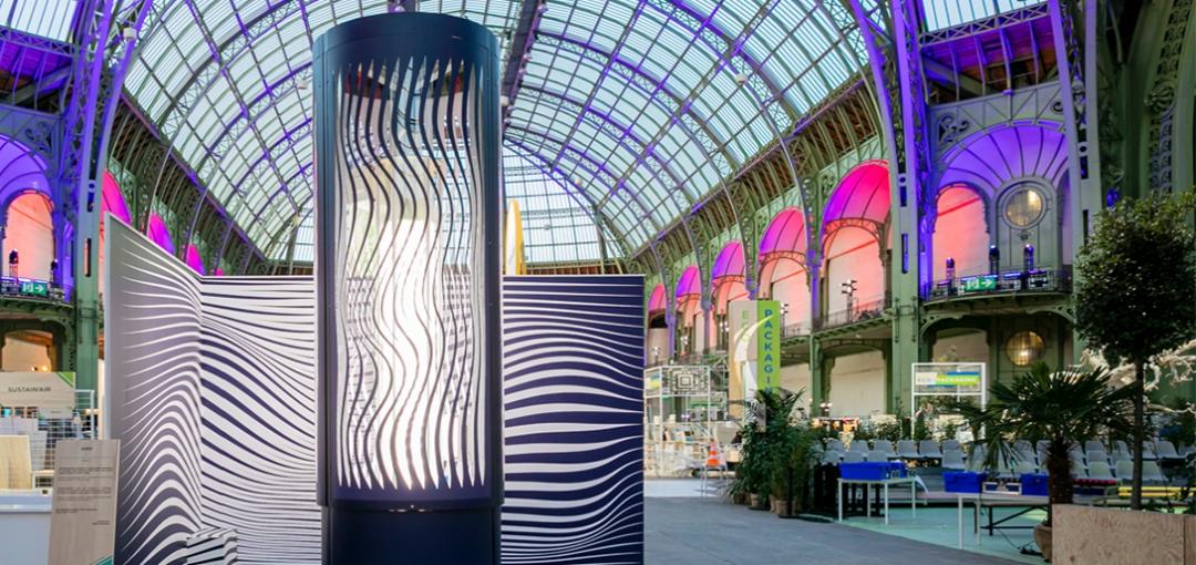 ChangeNOW Summit 2020 : SUEZ confie le design du puits de carbone à l'artiste autrichien Peter Kogler