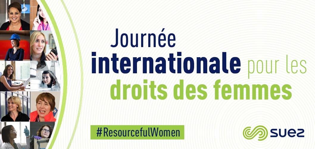 Journée internationale pour les droits des femmes 2017 : Portraits d'ambassadrices SUEZ en Provence Alpes Côte d'Azur