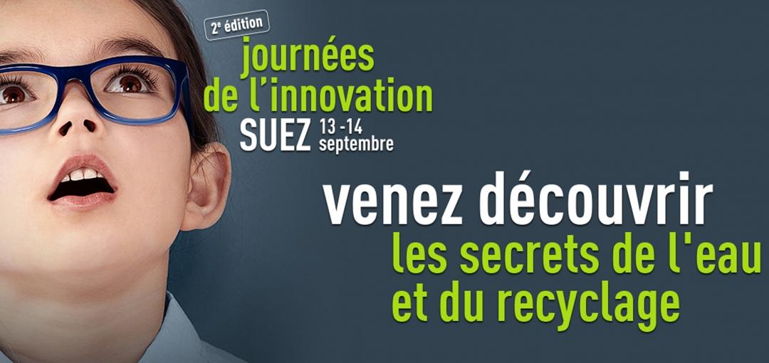 Journées de l'innovation : découvrez les secrets de l'eau et du recyclage