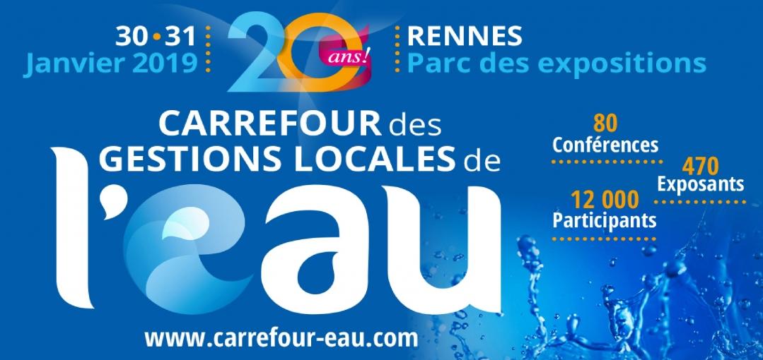Rendez-vous au Carrefour des gestions locales de l'eau