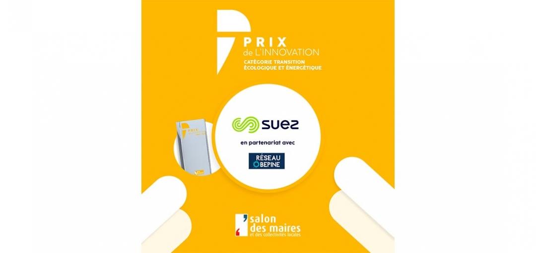 Salon des Maires et des Collectivités Locales : SUEZ remporte un prix de l'innovation avec l'offre COVID-19 CITY WATCH