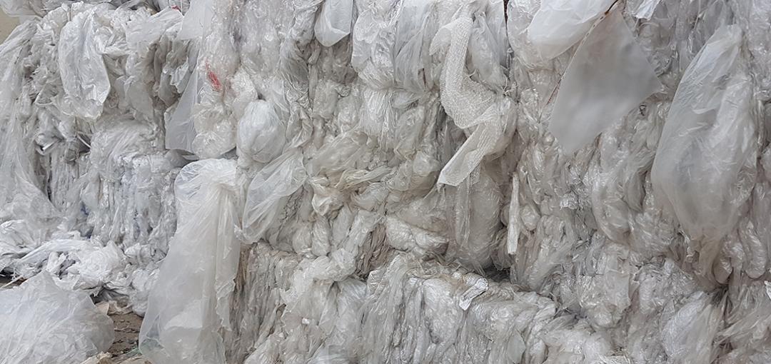 SUEZ assure la continuité du recyclage des films d'emballage en plastique