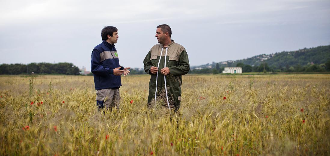 SUEZ aux côtés des agriculteurs d'Île-de-France