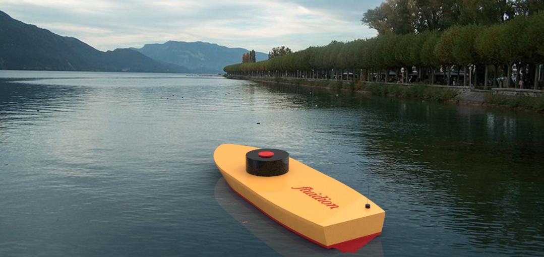 Un laboratoire portable embarqué et télécommandé, sentinelle de la qualité des eaux