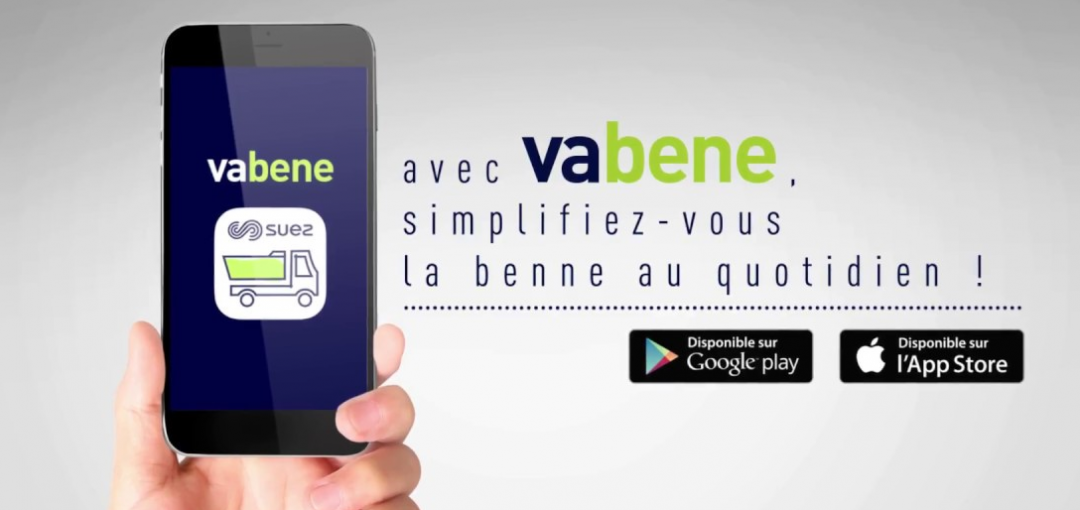 Vabene®, l'application pour vous faciliter la gestion de vos bennes de chantier